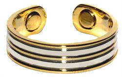 Stripes - Magnetic Therapy Ring (R01)