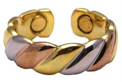 Three Tone - Magnetic Therapy Ring (R19)