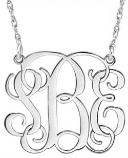 Alison & Ivy - Traditional Monogram Necklace - Customizable Jewelry Collection