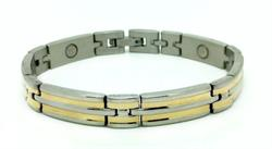 FREE GIFT - 7 Womens Stainless Steel Magnetic Bracelet