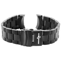 ArmourLite - Replacement Black Stainless Steel Bracelet AL300BLK for Captain Field Series Watches (20mm)