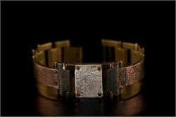 Copper Textured Design WatchCraft (R) Handmade Bracelet (B17)
