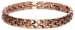 Copper Gator Skin - Magnetic Therapy Bracelet