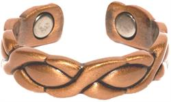 Copper XOXO - Magnetic Therapy Ring (CR-07)