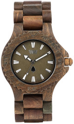 WeWood Wooden Watch - Date Army