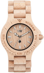 WeWood Wooden Watch - Date Beige