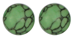 Apple Green - Magnetic Therapy Earrings (EGTQ)