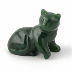 Jade Cat Figurine (HNW-008)
