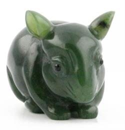 Jade Chinchilla Figurine (J-Chinchilla)