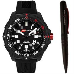 ArmourLite Tritium Watch - Isobrite 100 Series ISO100 T100 Gift Set with ArmourLite Tactical Pen - DISCONTINUED