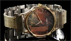 Large Minstrel - WatchCraft (R) Handmade Watch (LNG1)