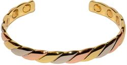Dia - Solid Copper Magnetic Therapy Bracelet (MBG-14)