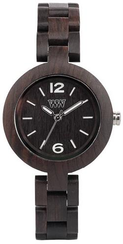 WeWood Wooden Watch - Mimosa Black