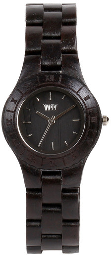 WeWood Wooden Watch - Moon Black - Limited Stock, CLEARANCE!