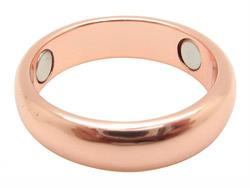 Solid Copper Band Magnetic Therapy Ring (CR23)