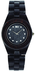 WeWood Wooden Watch - Odyssey Crystal Black - LIMITED STOCK