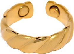Gold Plated Magnetic Therapy Ring (R03)