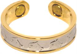 Dancing Dolphins - Magnetic Therapy Ring (RC-216)
