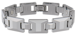 Sabona Tungsten Carbide Sports Magnetic Bracelet Mens or Womens - DISCONTINUED