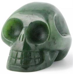 Jade Skull Figurine (Multiple Sizes Available) (J-Skull)