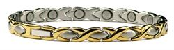 XOXO - Stainless Steel Magnetic Therapy Bracelet or Anklet (SS-15)