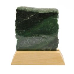 Green Genuine Natural Nephrite Jade 7 inch Decorative Slab