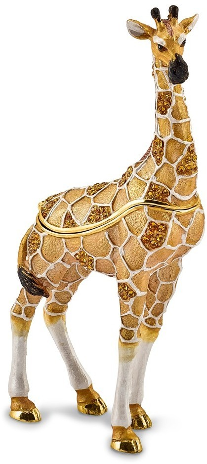 Bejeweled Formal Giraffe Trinket Box