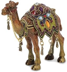 Bejeweled Desert Camel Trinket Box
