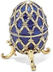 Bejeweled Grand Royal Blue Musical Egg