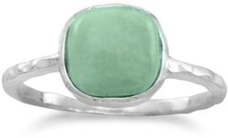 Turquoise Stackable Ring 925 Sterling Silver