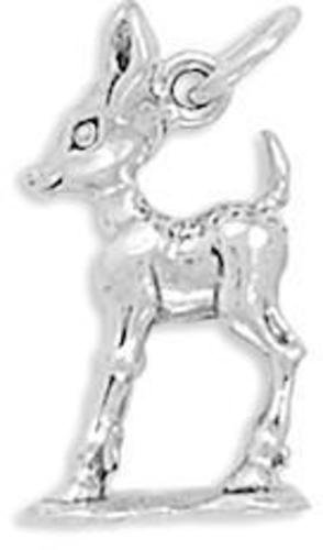 Fawn Charm 925 Sterling Silver
