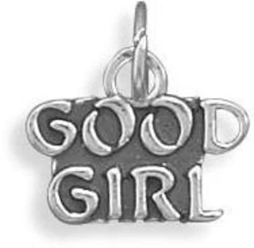 Good Girl Charm 925 Sterling Silver
