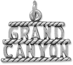 Grand Canyon Charm 925 Sterling Silver