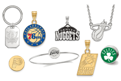 NBA Jewelry - Officially Licensed