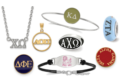 Officially Licensed Sorority Jewelry