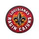 Louisiana at Lafayette Ragin' Cajuns Logo
