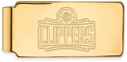 10K Yellow Gold NBA Los Angeles Clippers Money Clip by LogoArt