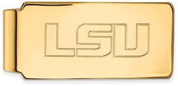 14K Yellow Gold Louisiana State University Money Clip by LogoArt