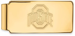 14K Yellow Gold Ohio State University Money Clip by LogoArt