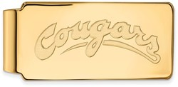 10K Yellow Gold Washington State Money Clip by LogoArt (1Y038WAS)