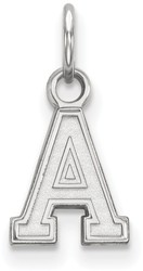 10K White Gold U.S. Military Academy X-Small Pendant by LogoArt