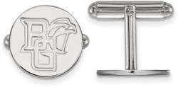 Sterling Silver Bowling Green State University Cuff Links by LogoArt