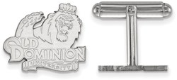 Sterling Silver Old Dominion University Cuff Links by LogoArt