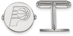 Sterling Silver NBA Indiana Pacers Cuff Links by LogoArt