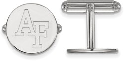 Sterling Silver United States Air Force Academy Cuff Links by LogoArt