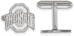 Sterling Silver Ohio State University Cuff Links by LogoArt