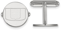 Sterling Silver University of Miami Cuff Links by LogoArt (SS012UMF)