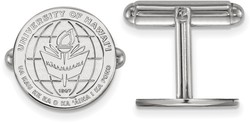 Sterling Silver The University of Hawaii Crest Cuff Links by LogoArt