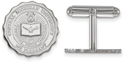Sterling Silver Central Michigan University Crest Cuff Links by LogoArt