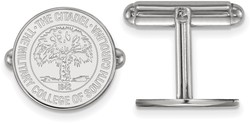 Sterling Silver The Citadel Crest Cuff Links by LogoArt